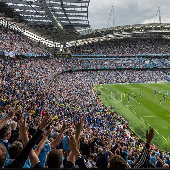 Manchester City, Etihad Stadium, Manchester