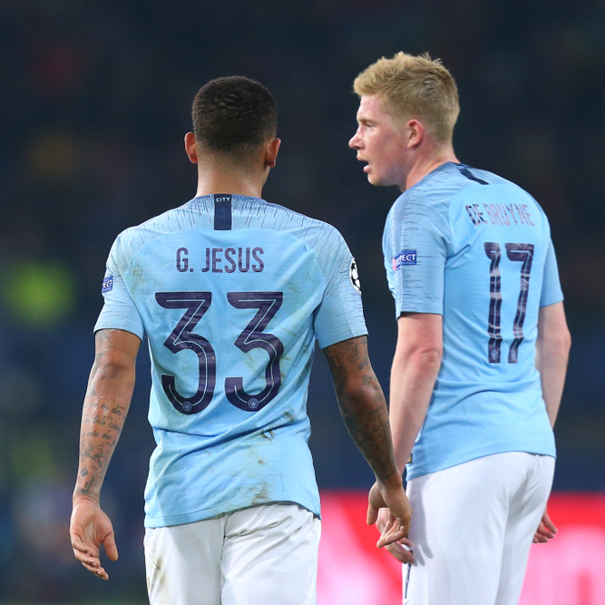 Manchester City - West Ham United (di. 26 februari 2019)