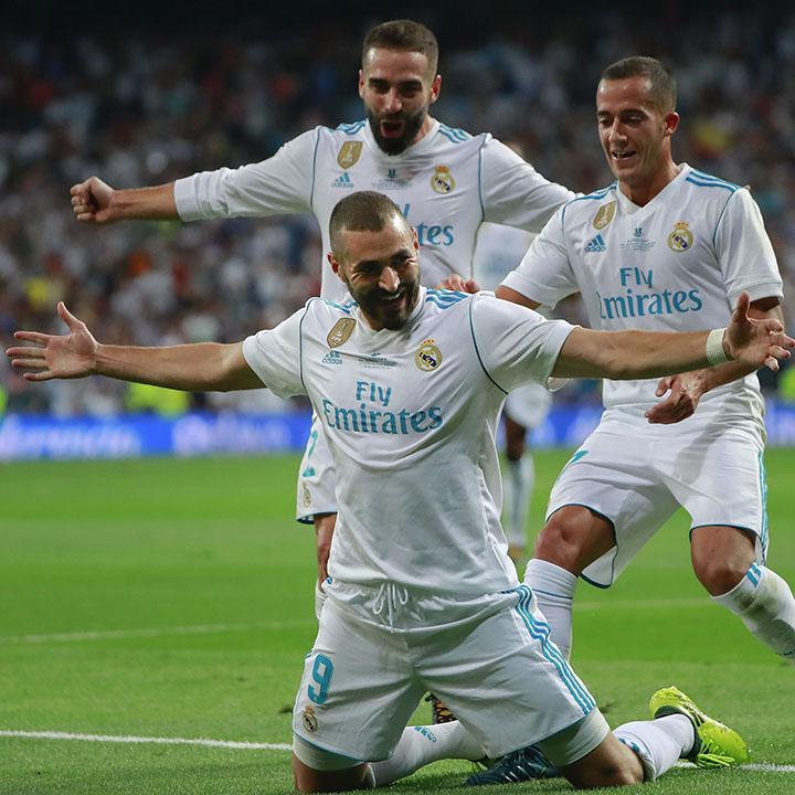 Real Madrid - Valencia CF (za. 1 december 2018)