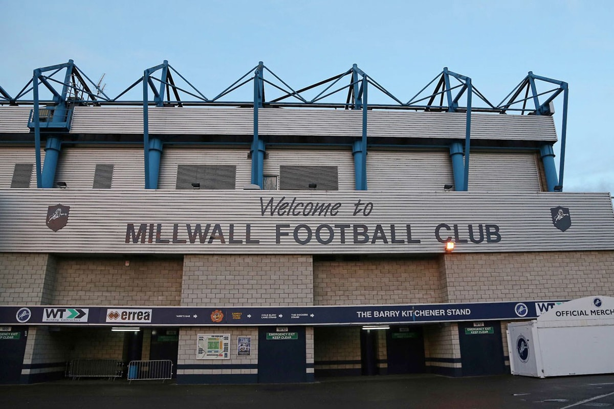 b41a306079 Wedstrijden  Voetbalreizen naar Millwall FC