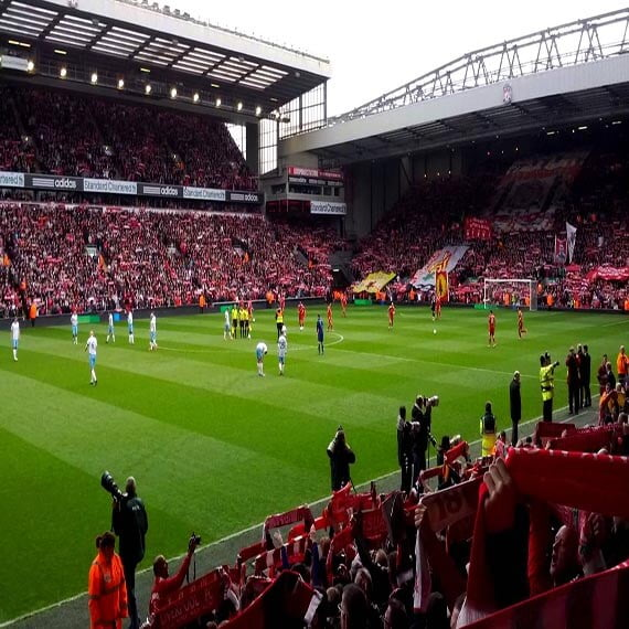Liverpool FC, Anfield Road stadion, Liverpool