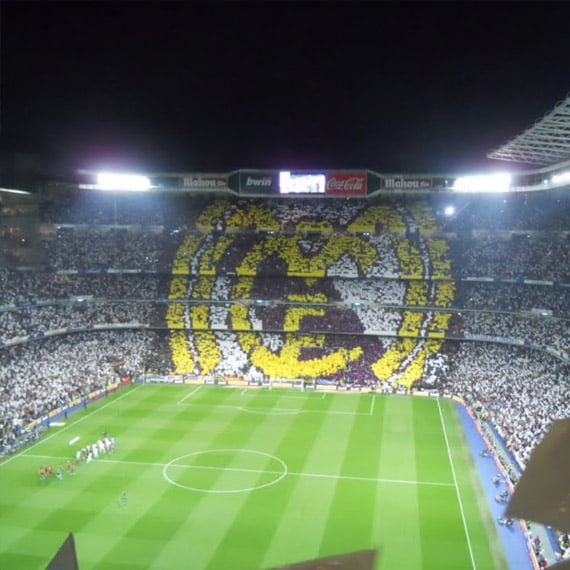 Real Madrid , Santiago Bernabéu, Madrid