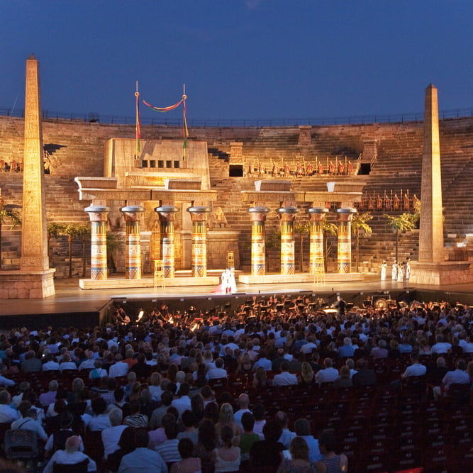 Aida, Arena di Verona, Verona