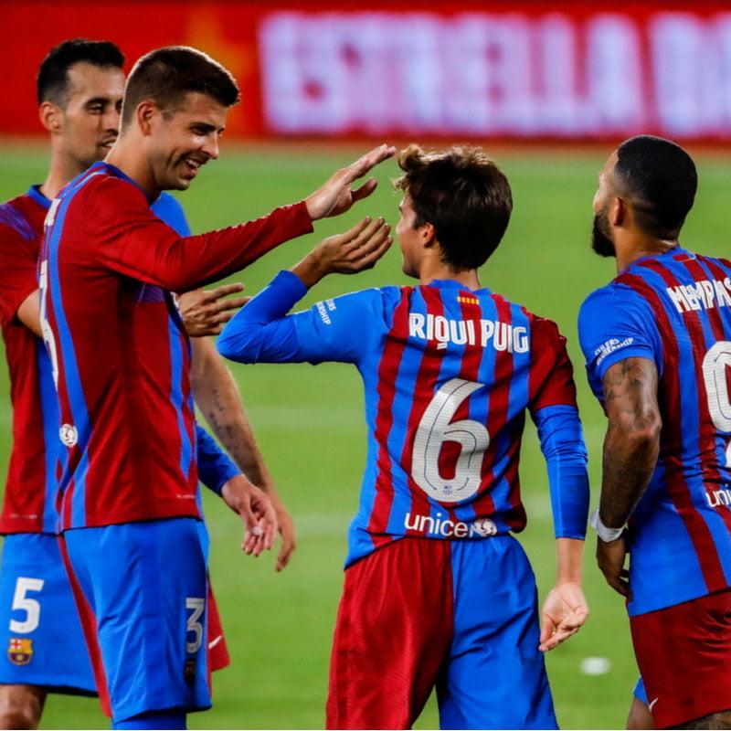 FC Barcelona - Deportivo Alavés (lør. 30 oktober 2021)