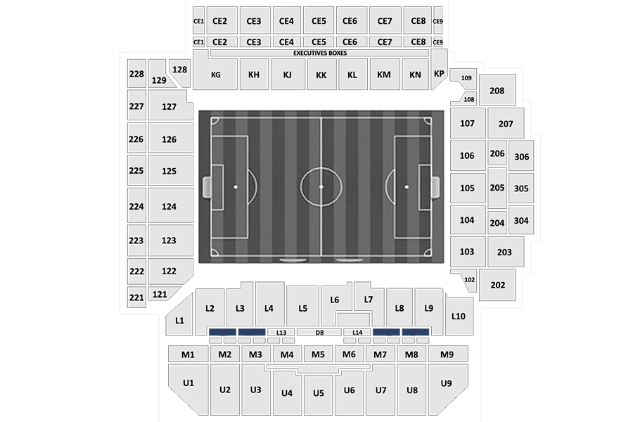 Main Stand seats + Anfield Code Lounge hospitality